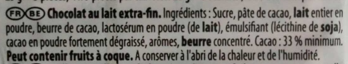 Lait - Melk - Ingredients