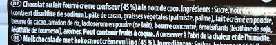 Lait Coco - Ingrédients - fr