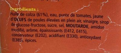 Sauce Cocktail - Ingrediënten - fr