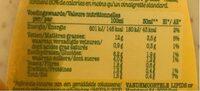 Vinaigrette Moutarde, Light - Informations nutritionnelles - fr