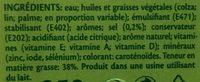 Vitelma omega 3 - Ingrediënten - fr