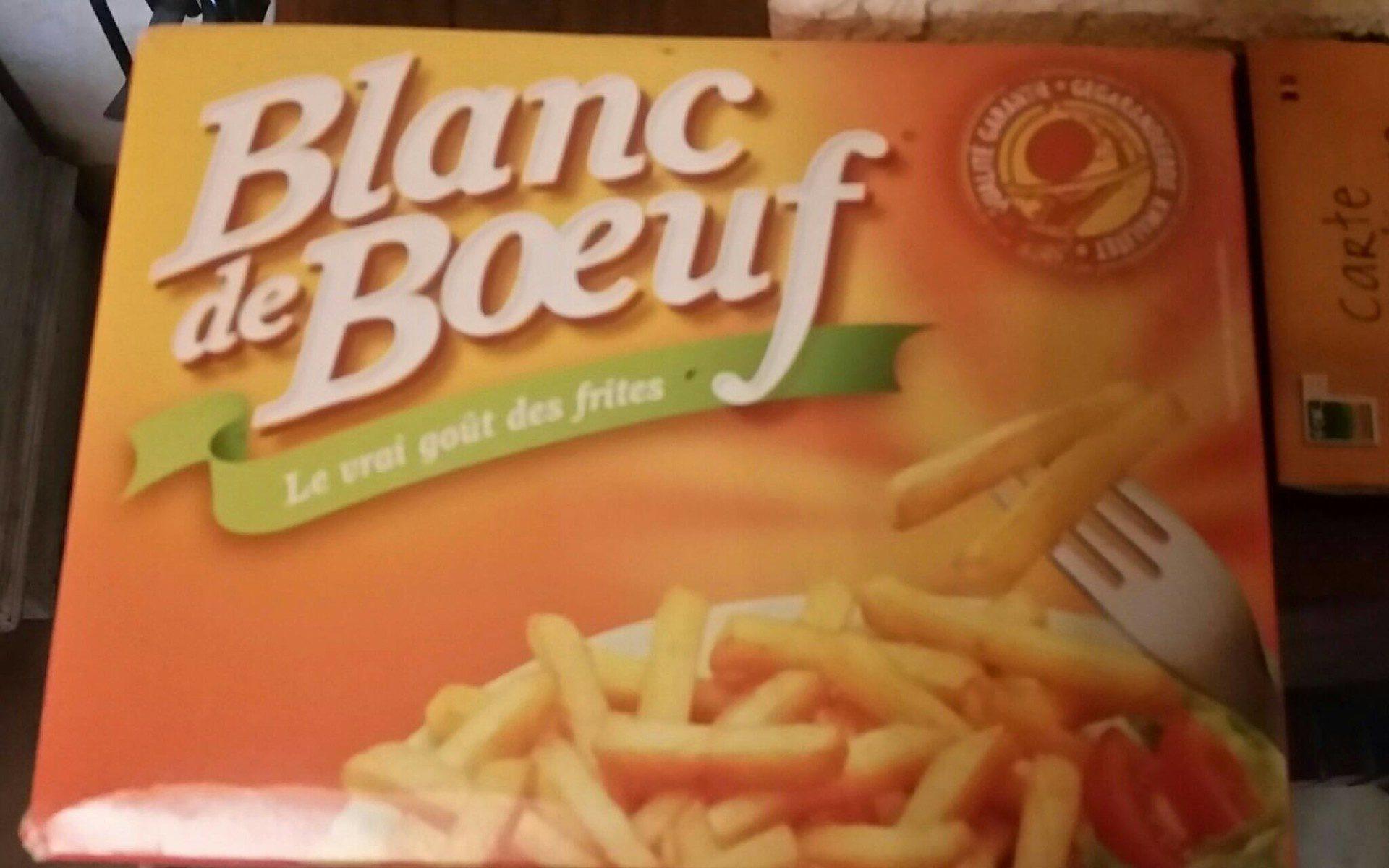 Blanc de boeuf - Product - fr