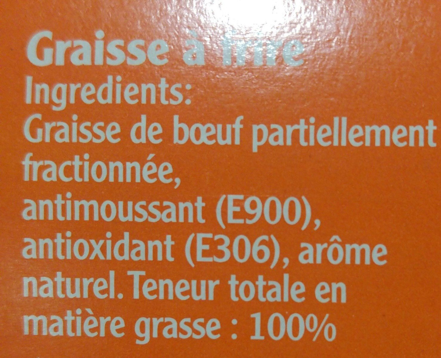 Blanc de boeuf - Ingrediënten - fr