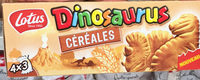 Dinosaurus cereal - Product
