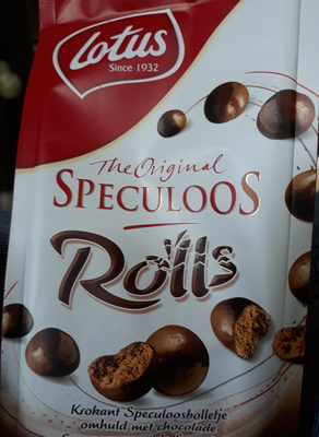 Lotus Spéculoos Rolls - Product