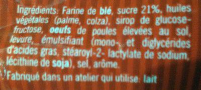 Gaufres Suzy - Ingredients - fr
