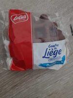 Gaufre de Liège L'ORIGINAL Chocolat au lait - Produit - fr