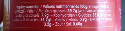 Spéculoos Crunchy - Voedingswaarden - fr