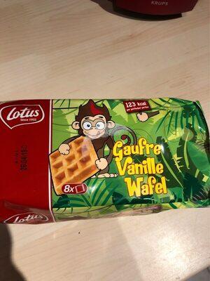 Gaufre vanille - Produit - fr