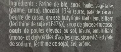 Suzy - Ingrediënten