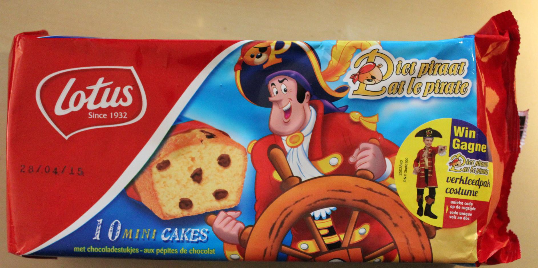 Mini Cake Pat le Pirate - Product - fr