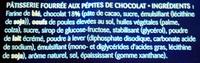 Mini Cake Pat le Pirate - Ingrediënten - fr