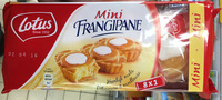 Mini Frangipane - Produit