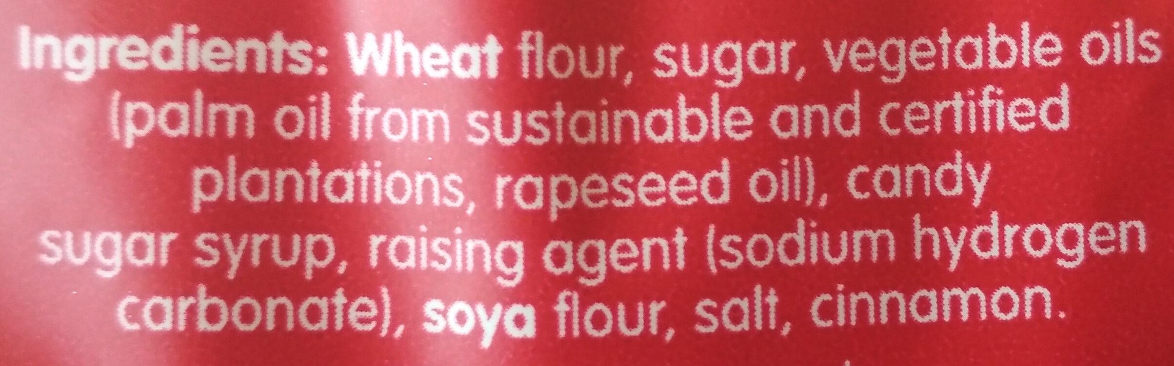 Biscoff - Ingrediënten - en