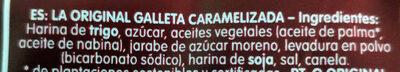 Biscoff - المكونات - es