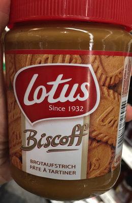 Biscoff Creme - Produit - fr
