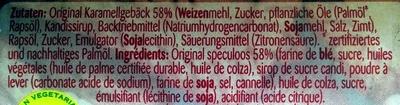 Biscoff® Creme - Ingredients