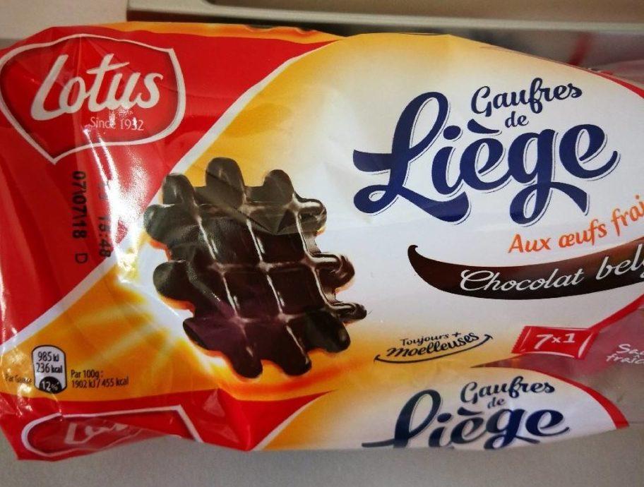 Gaufres de Liège Chocolat Belge - Produit