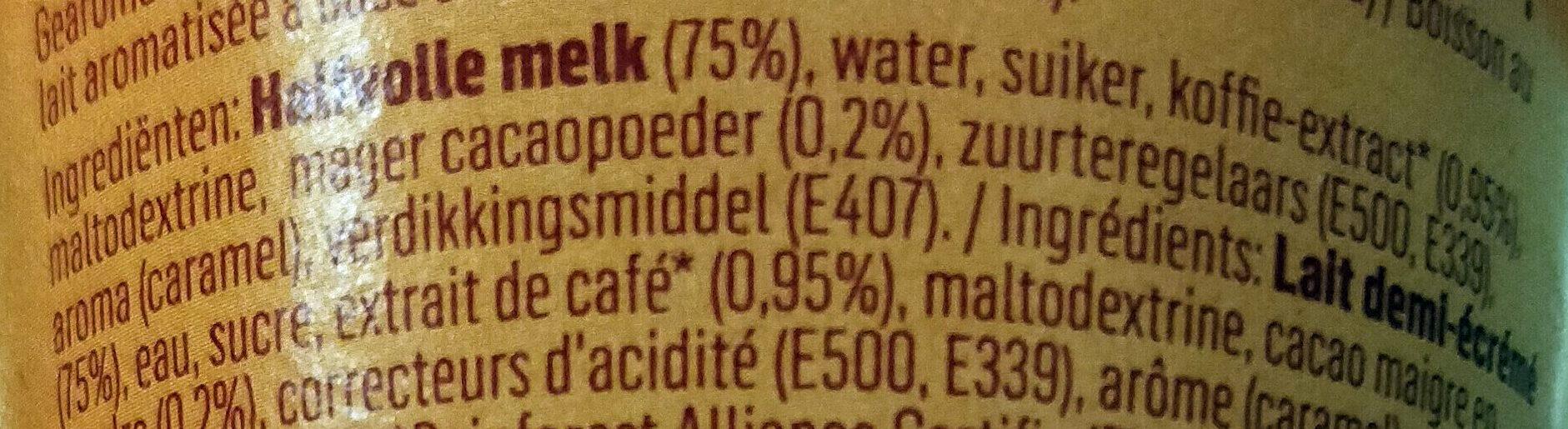 Ice Caramel Latte - Ingrediënten - nl