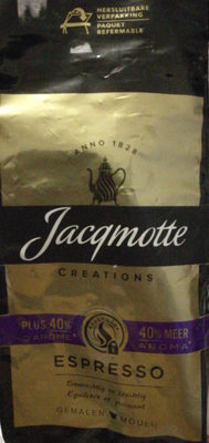 CAFE JACQMOTTE Création espresso - Product - fr