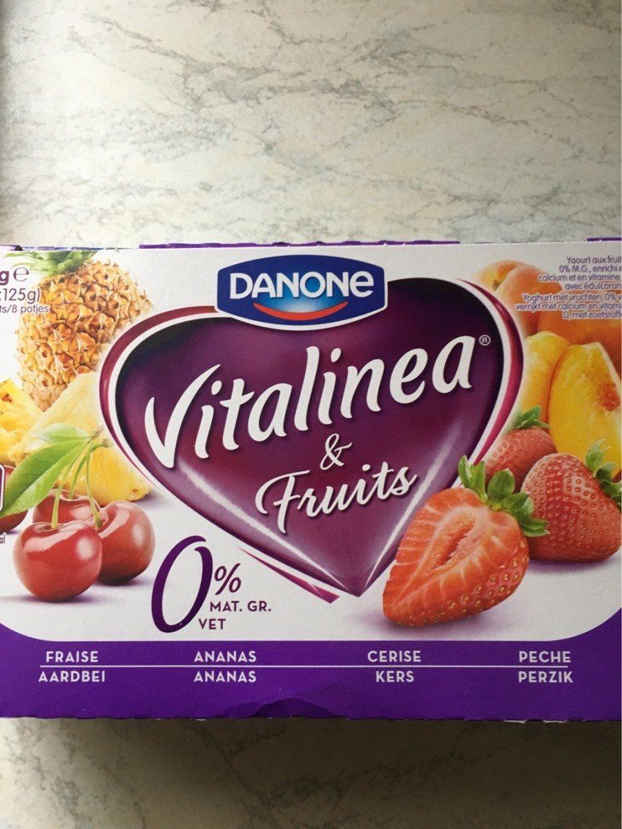 Danone Vitalinea Fruit - Produit - fr