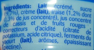 Danup fraise - Ingrediënten - fr