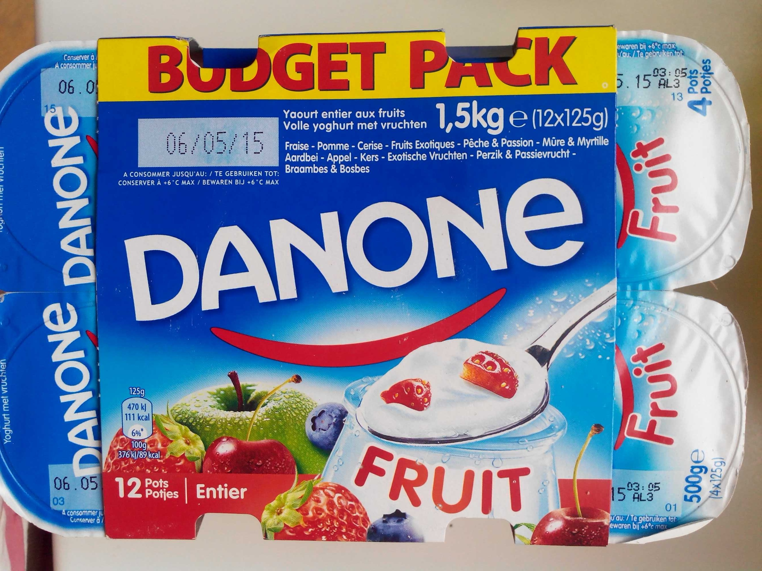 Fruit entier (budget pack) - Product - fr
