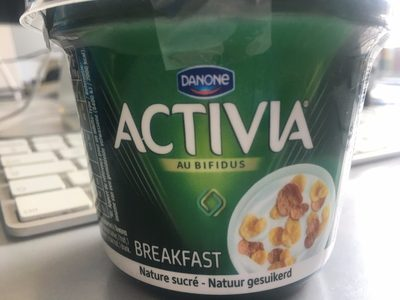 Activia Breakfast, Joghourt Natur Gezuckert - Product - fr