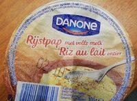 Riz au lait entier - Voedingswaarden - fr