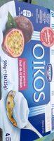 Oikos yaourt à la grecque - fruit de la passion - Product - fr