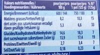 Oikos yaourt à la grecque - fruit de la passion - Voedingswaarden - fr