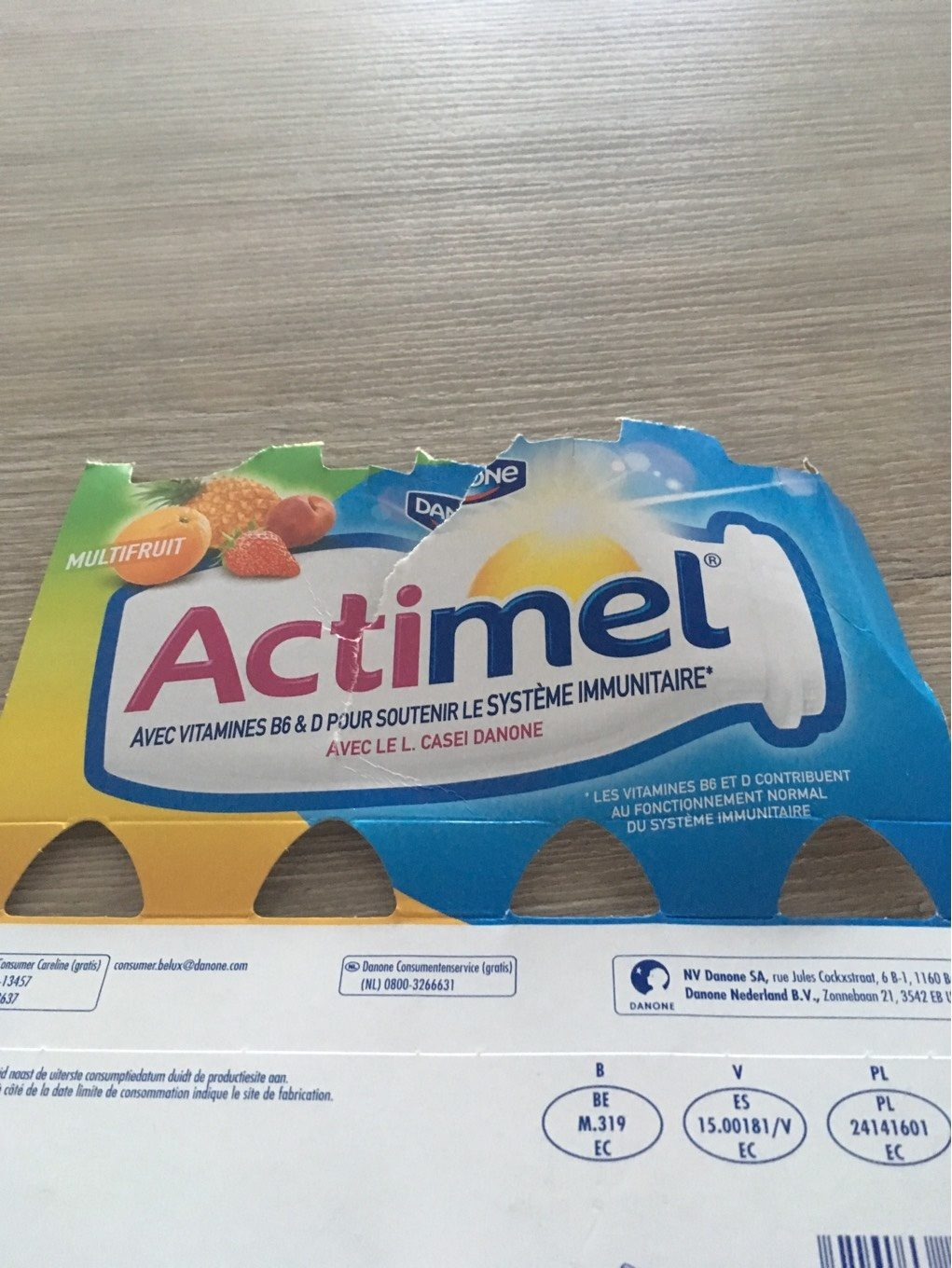 Actimel Multifruit - Product - fr