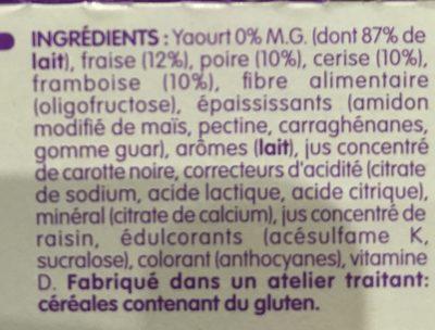 Vitalinea - Ingrediënten