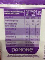 Vitalinea - Voedingswaarden