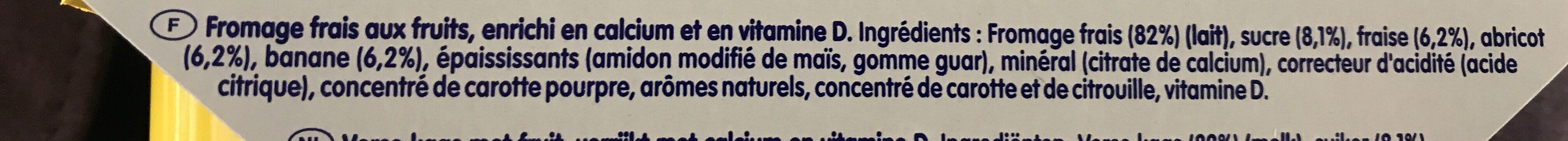 Danonino - Ingrediënten