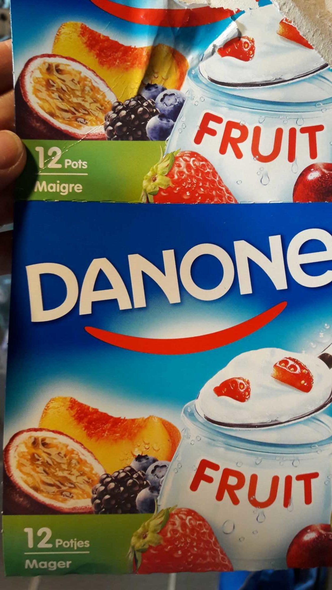 Danone fruits maigre - Produit - fr