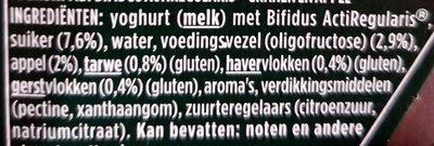 Activia céréales - Ingrediënten - nl