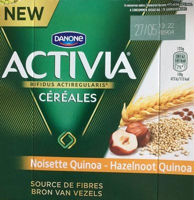 Activia Céréales Noisette Quinoa - Produit - fr