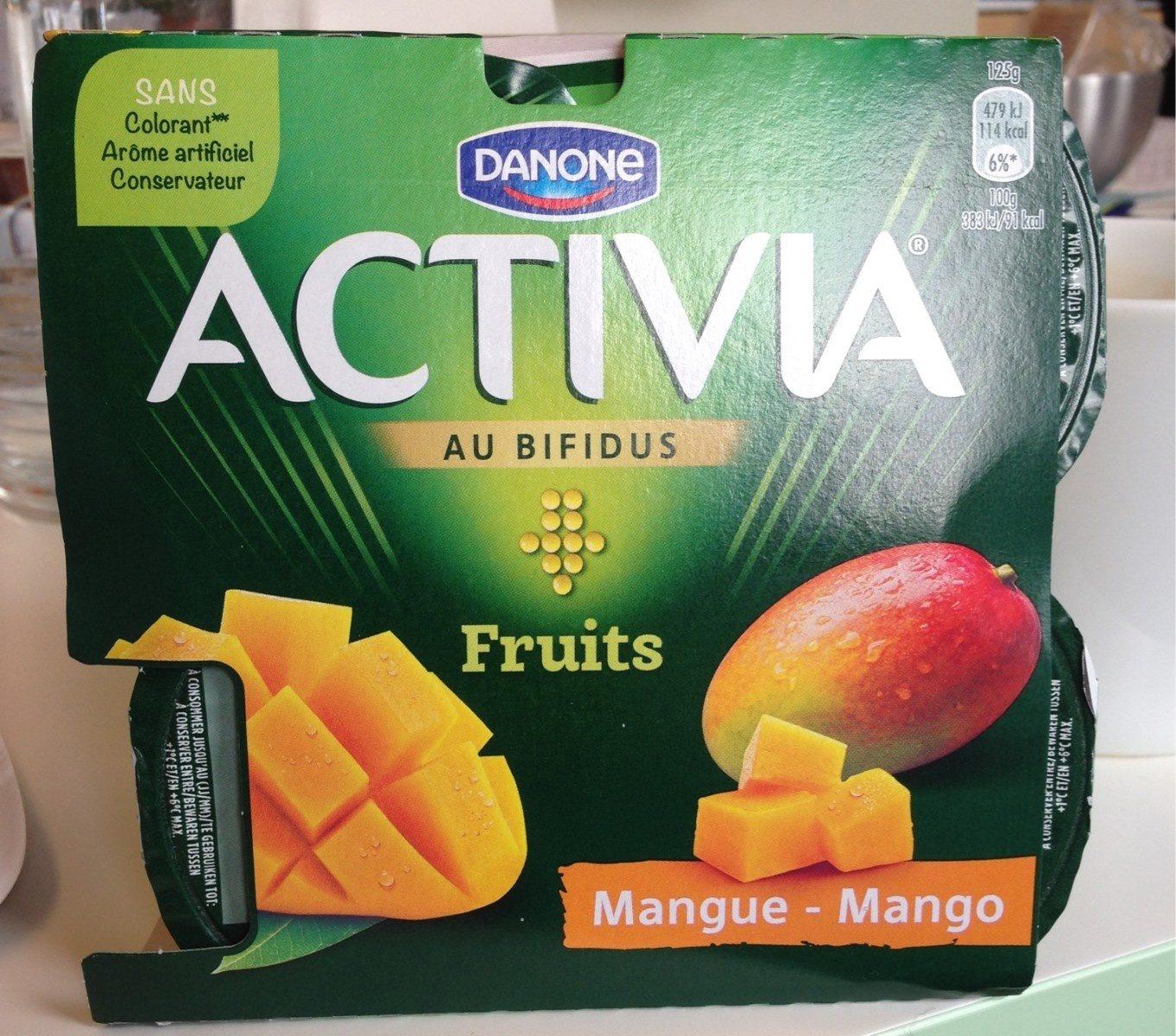 Yaourt à la mangue - Product - fr