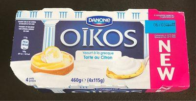 Oikos tarte au citron - Produit - fr