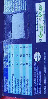 Oikos tarte au citron - Informations nutritionnelles - fr