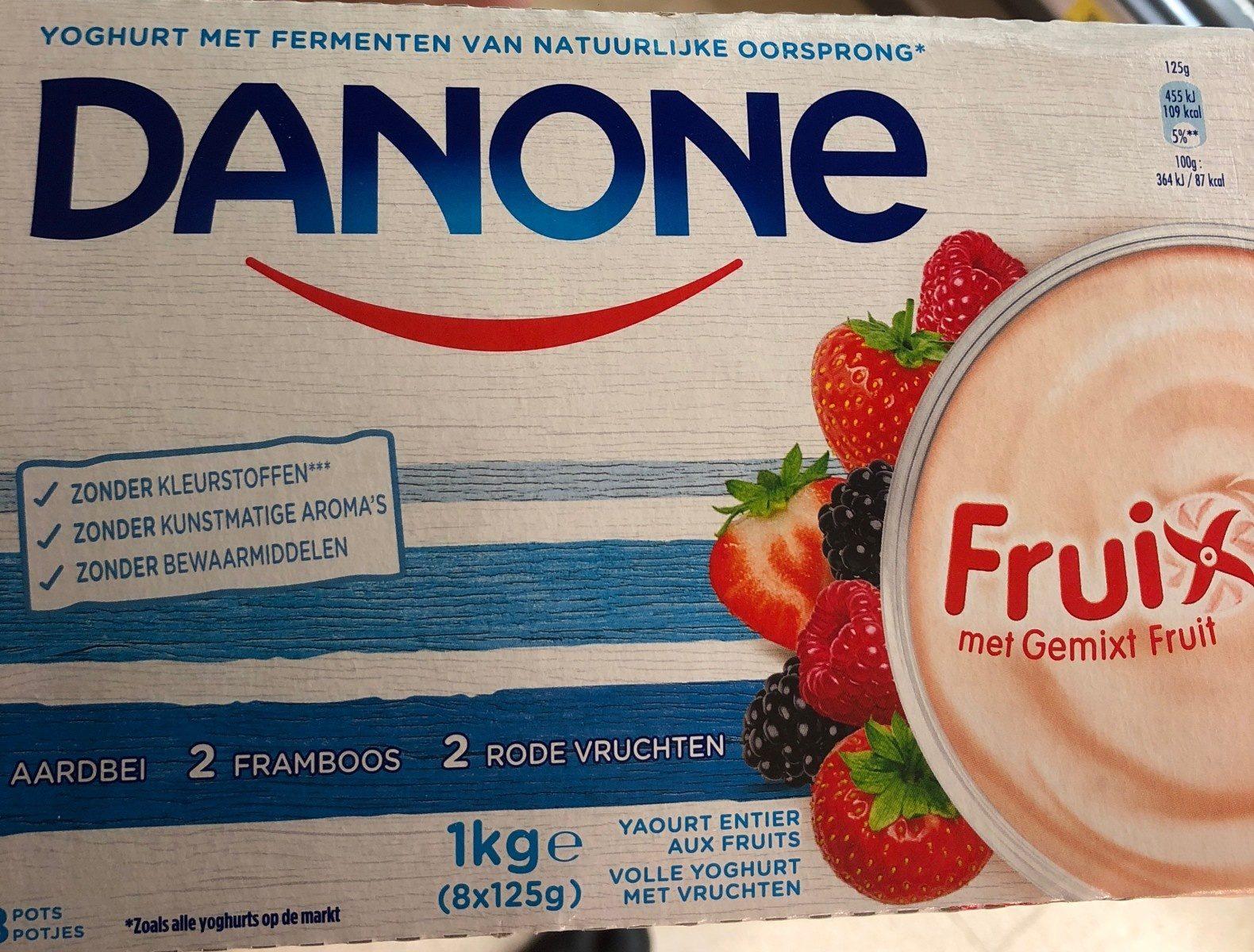 Fruix met gemixt fruit - Prodotto - fr