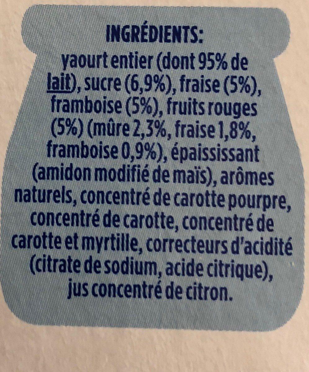 Fruix met gemixt fruit - Ingredienti - fr