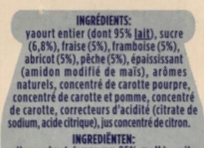 Fruix - Ingredienti - fr