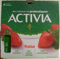 Activia fraise - Prodotto - fr