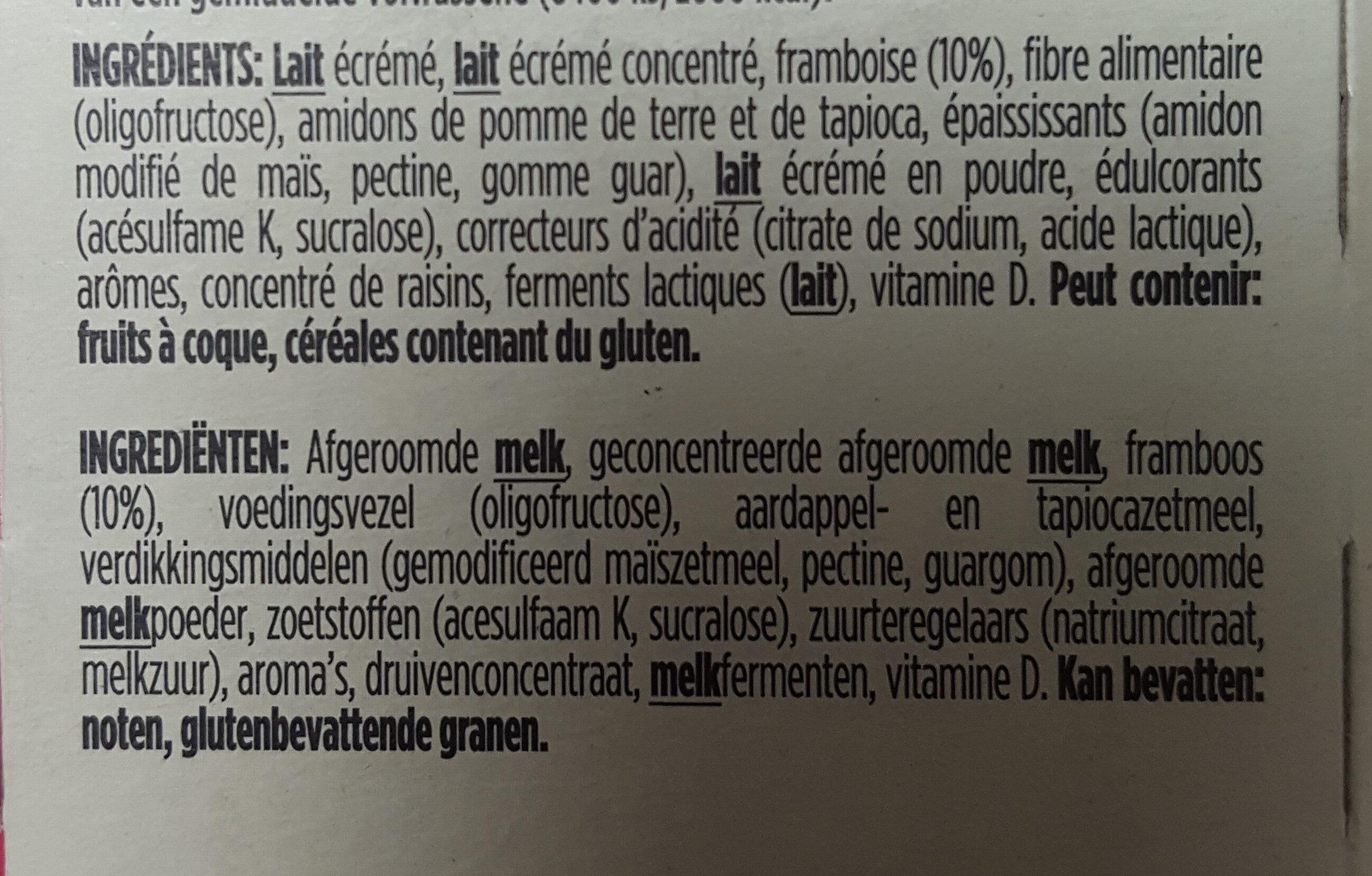 Yaourt Light & Free - Ingrediënten