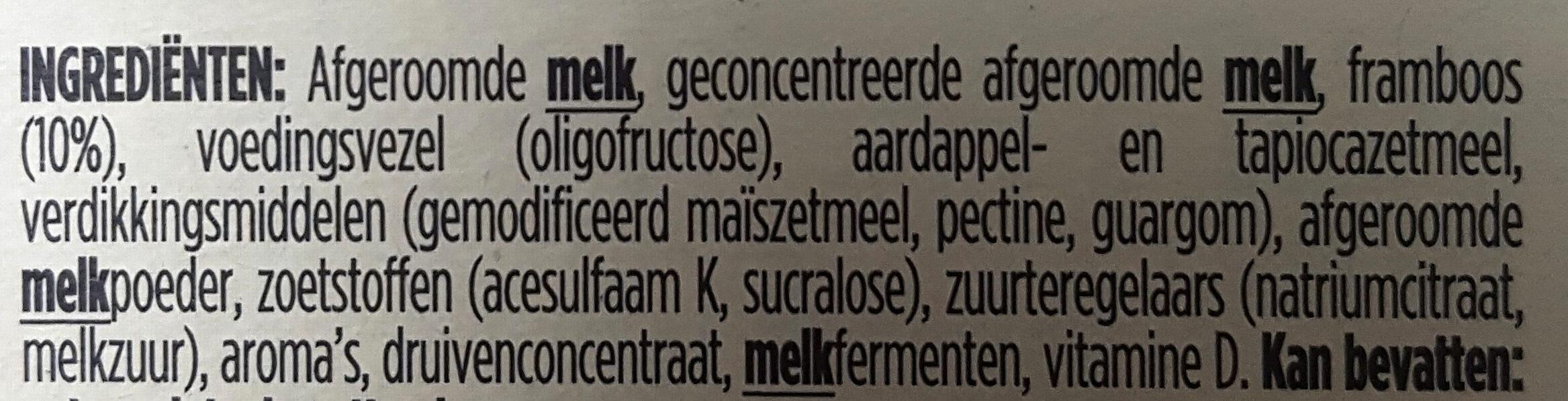 Yaourt Light & Free - Ingrediënten - nl