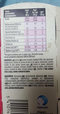 Yaourt Light & Free - Voedingswaarden - fr