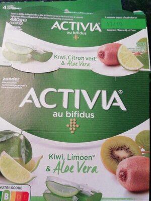 Activia kiwi limoen&Aloe Vera - Product - fr