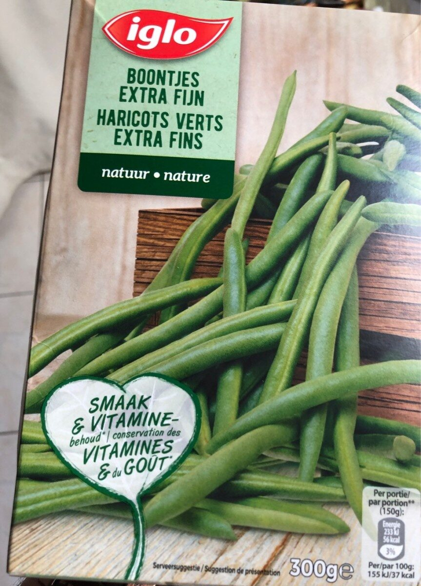 Haricots verts Extra fin - Produit